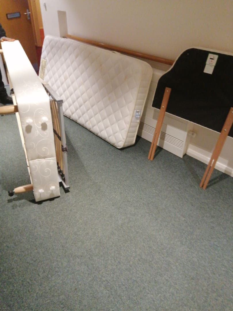 Bed-Recycling-Rotherham-mattress-Before