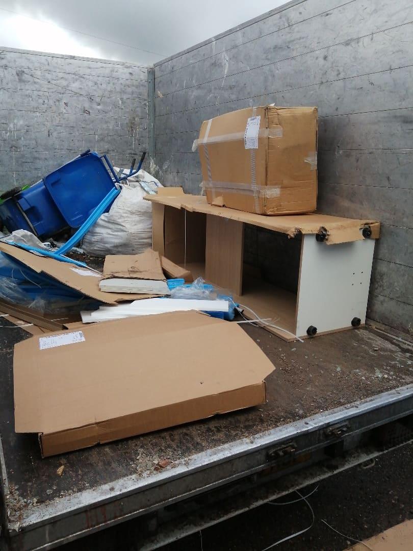 Fridge-removal-Doncaster-van-full