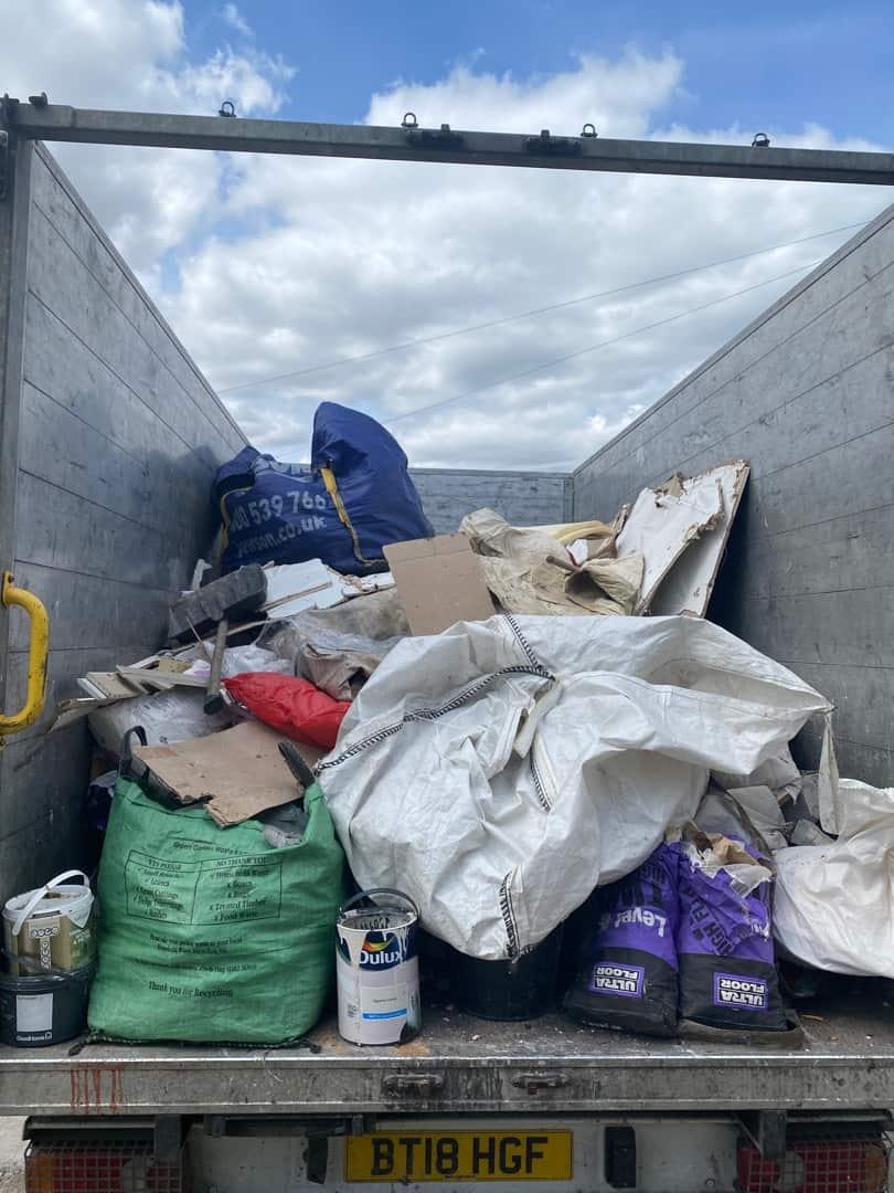 Waste-collection-Barnsley-Van