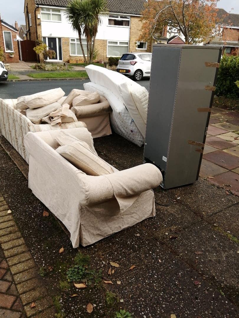 furniture-disposal-Rotherham-before
