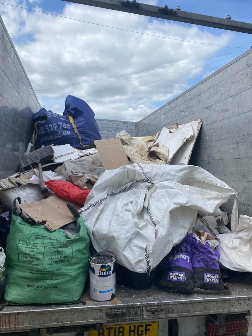 furniture-disposal-Rotherham-full-van
