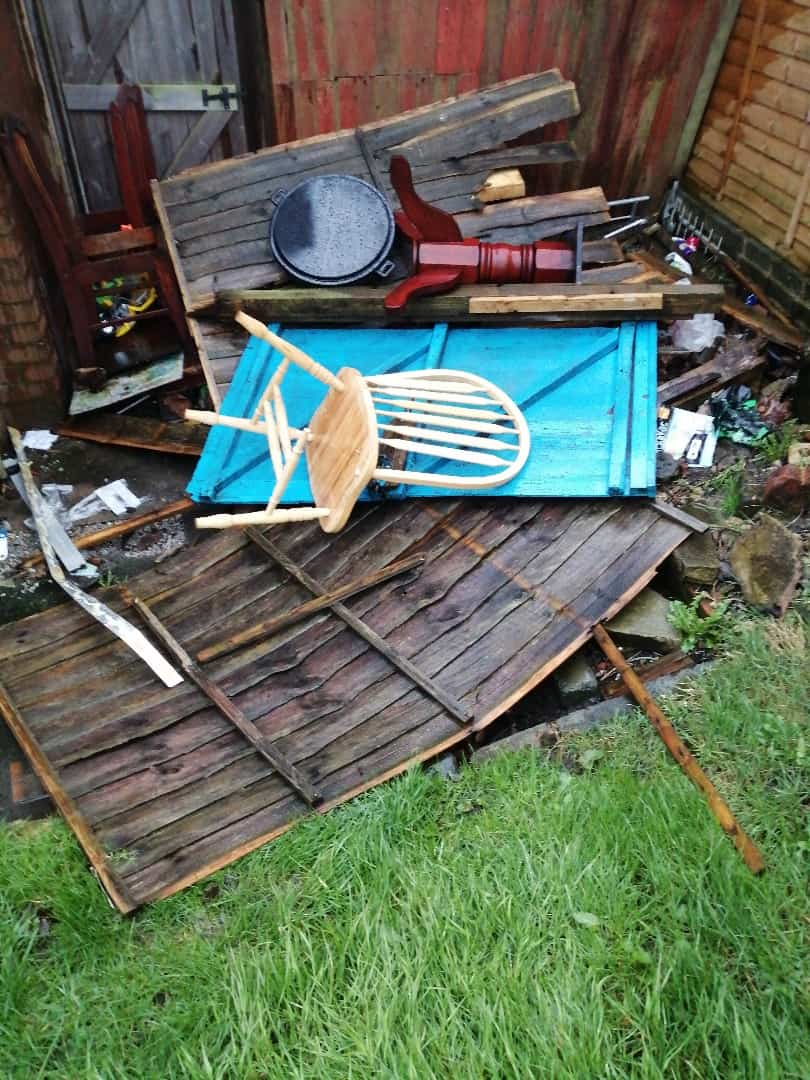 shed-removal-Rotherham-before
