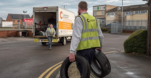 waste-disposal-Doncaster-team-Tyres